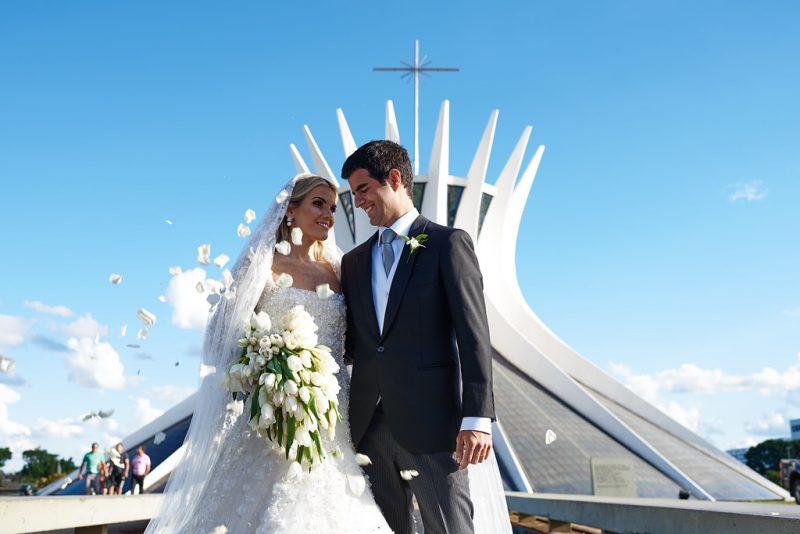 Casamento com muita arquitetura: Isadora Campos + Jorge Paulo Palhares
