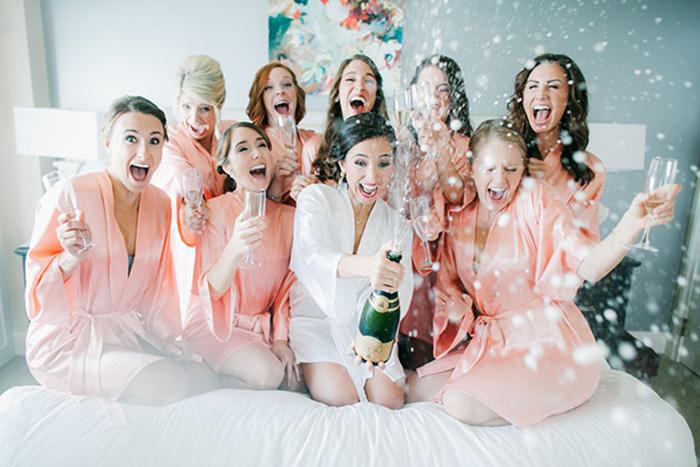 Day spa com as madrinhas é tendência entre as noivas