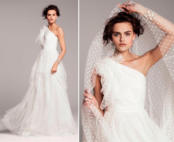 Tendência: Vestido de noiva de tule
