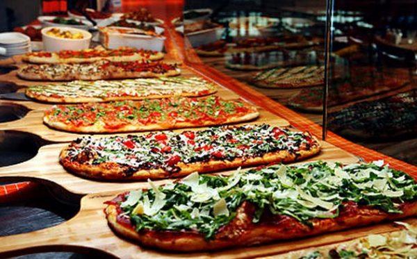 Pizza é novidade emcasamentos