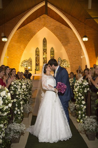 Casamento moderno de Juliana + André