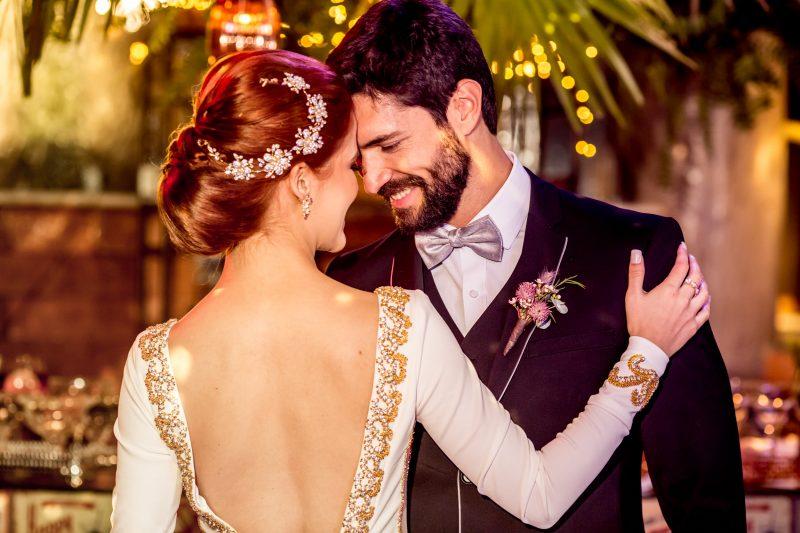 Disco Wedding para o inverno no Villa Giardini