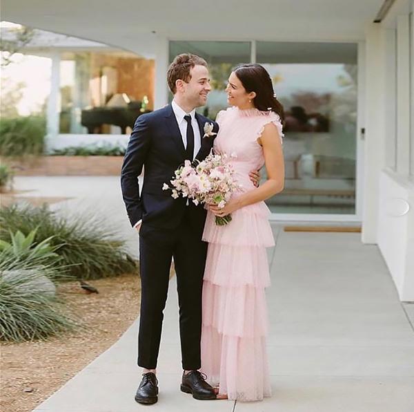O casamento de Mandy Moore e Taylor Goldsmith