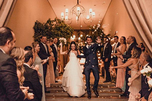 Casamento clássico contemponâneo: Priscila + Frank