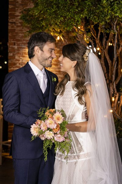 Casamento intimista: Mariana + André