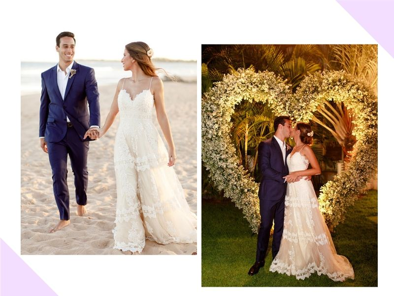 Destination wedding na Bahia: Thaís + Mateus
