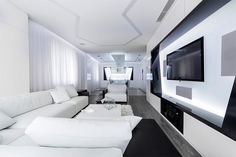 Sua casa com decoração futurista