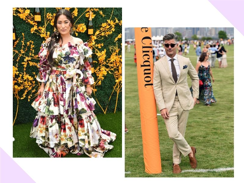 Os looks do Veuve Clicquot Polo Classic de Nova York