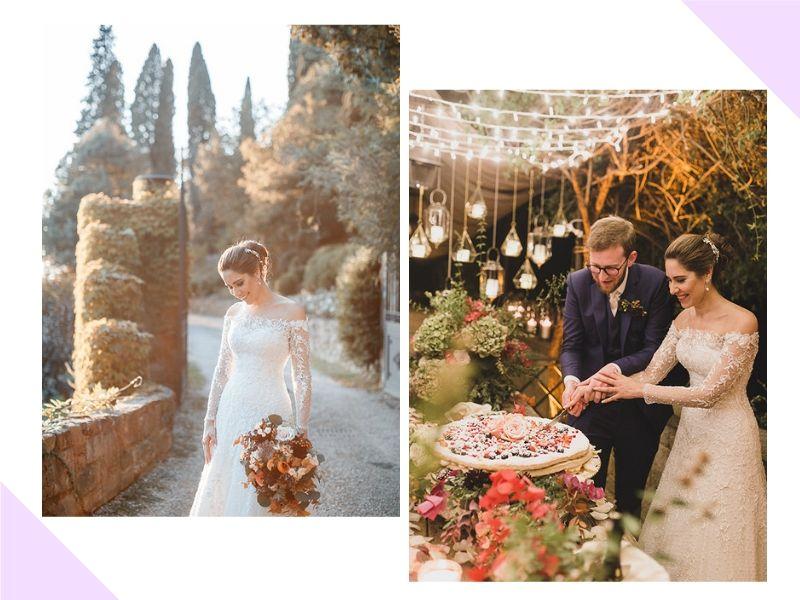 Destination wedding na Toscana: Louise + Marcelo