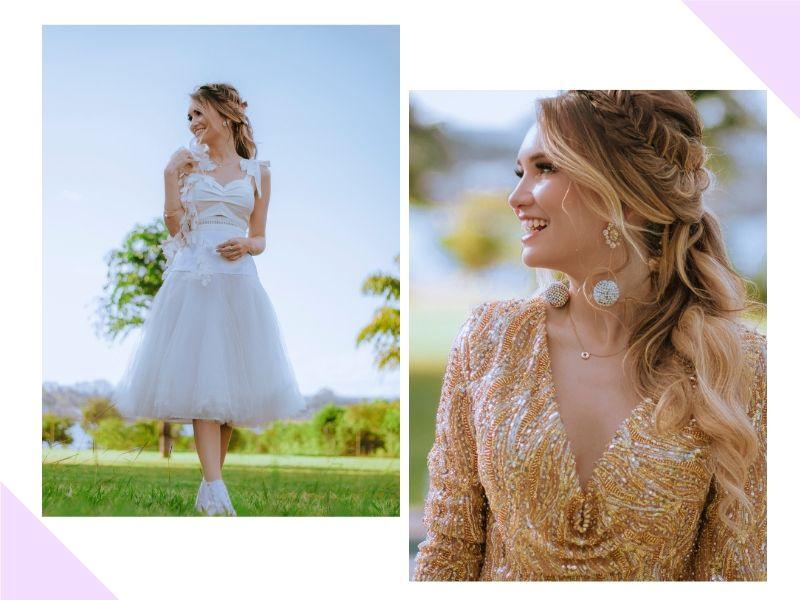 Ju Marques clica editorial para inspirar noivas
