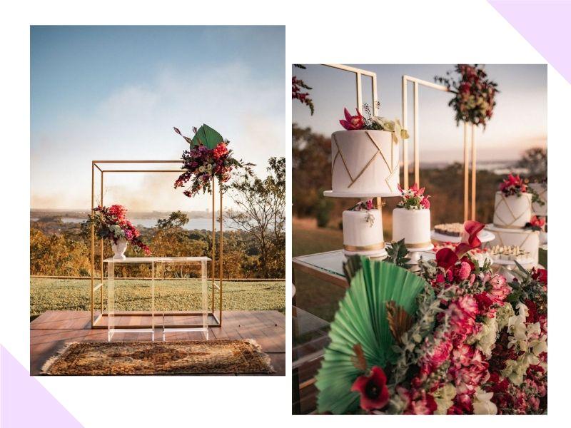 Editorial traz inspiração para casamento moderno e colorido