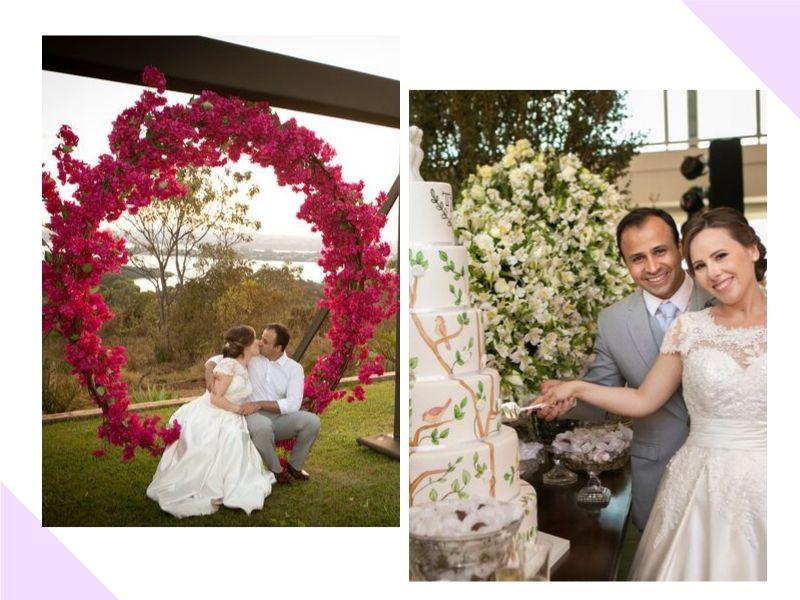 Casamento rústico chique no Espaço Panorama: Thais + Hygor