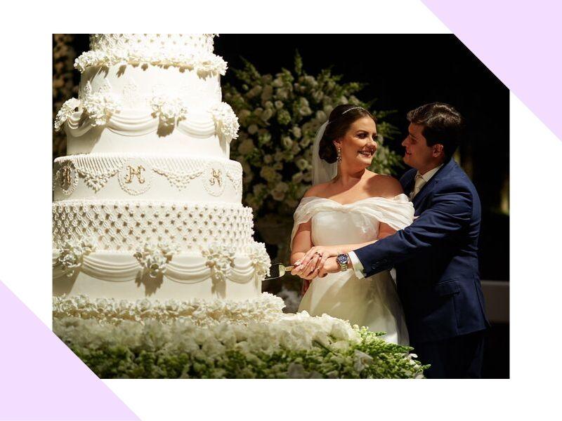 Casamento clássico contemporâneo no Maastik: Nathália + Henrique