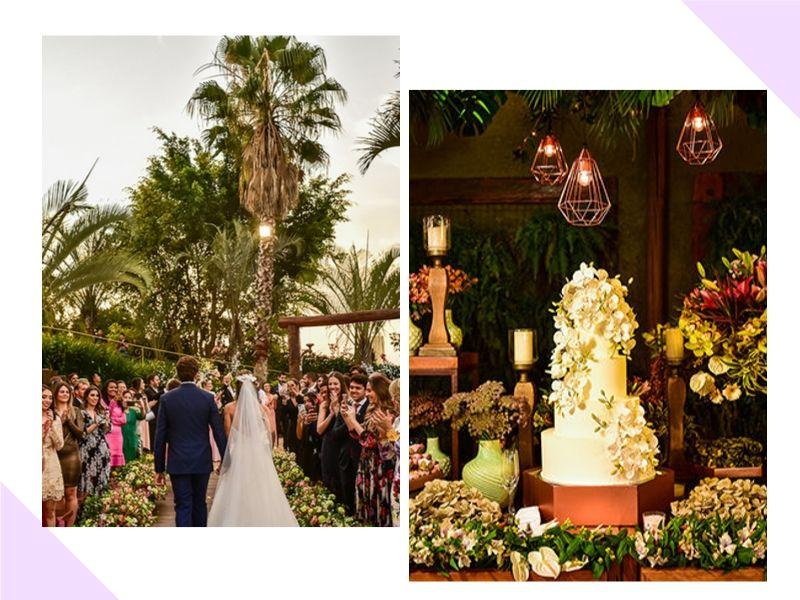 Casamento rústico chique: Eduarda + Leandro