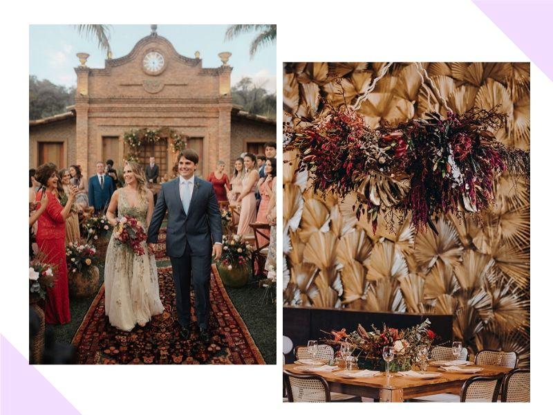 Casamento no inverno: Jussara + Frederico