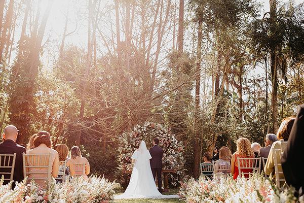 Mini wedding no campo: Camila + Alberto