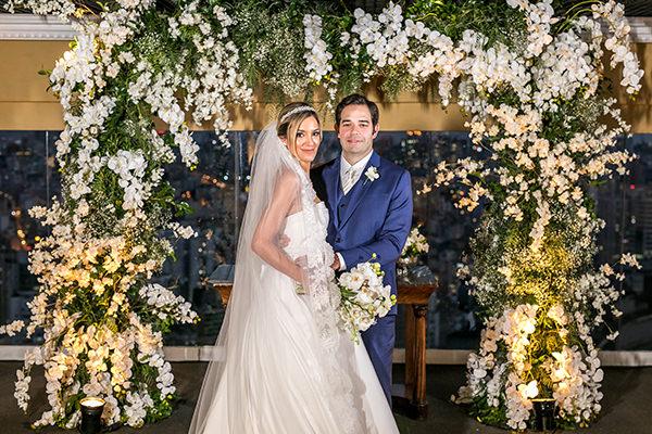 Mini wedding clássico: Estela + Rogerio