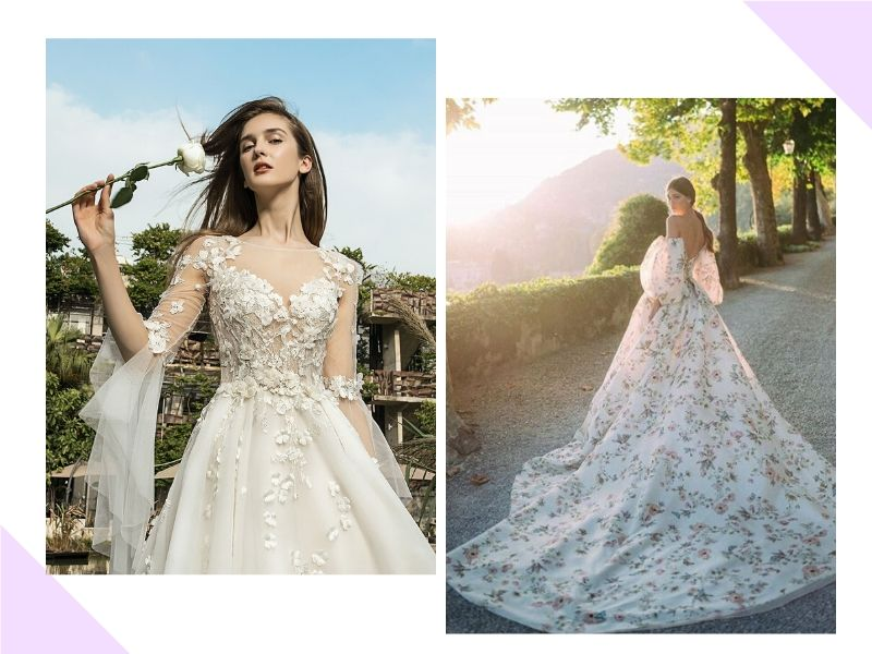 6 Tendências para os vestidos de noiva em 2020