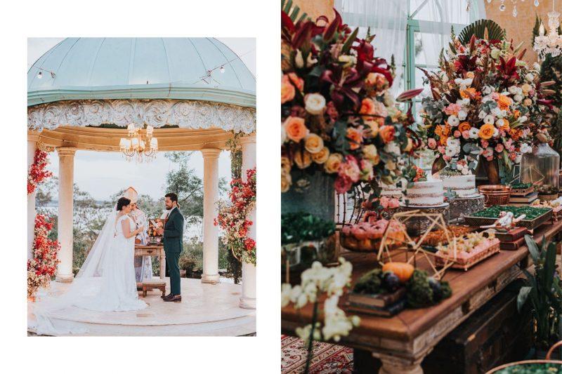 Casamento outonal no Villa Giardini: Fernanda + Natan