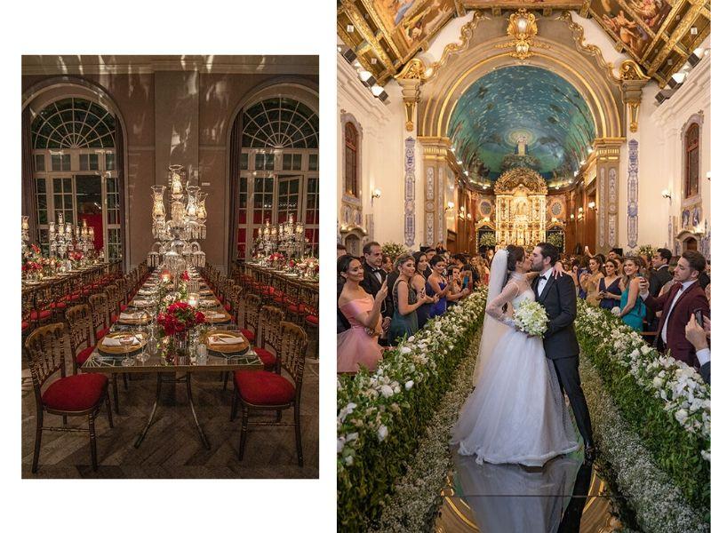 Casamento no Palácio Tangará: Marcela + Enrico