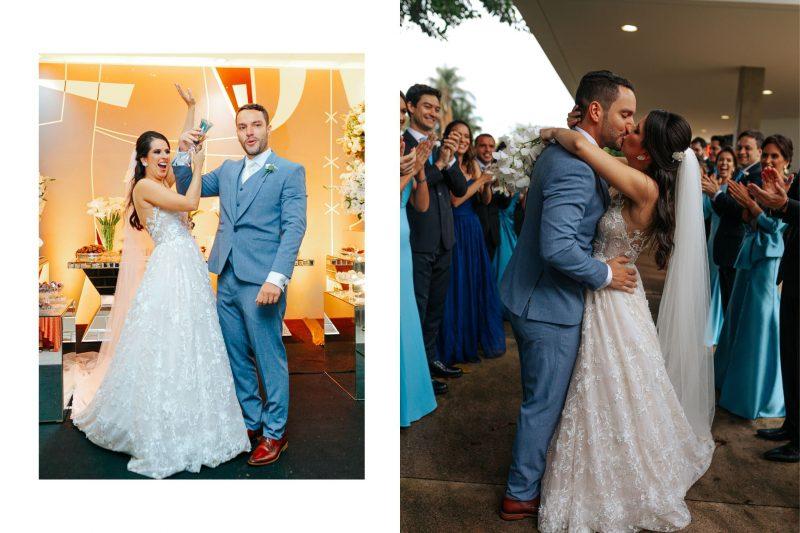 Casamento moderno no Brasilia Palace: Luana + Iuri