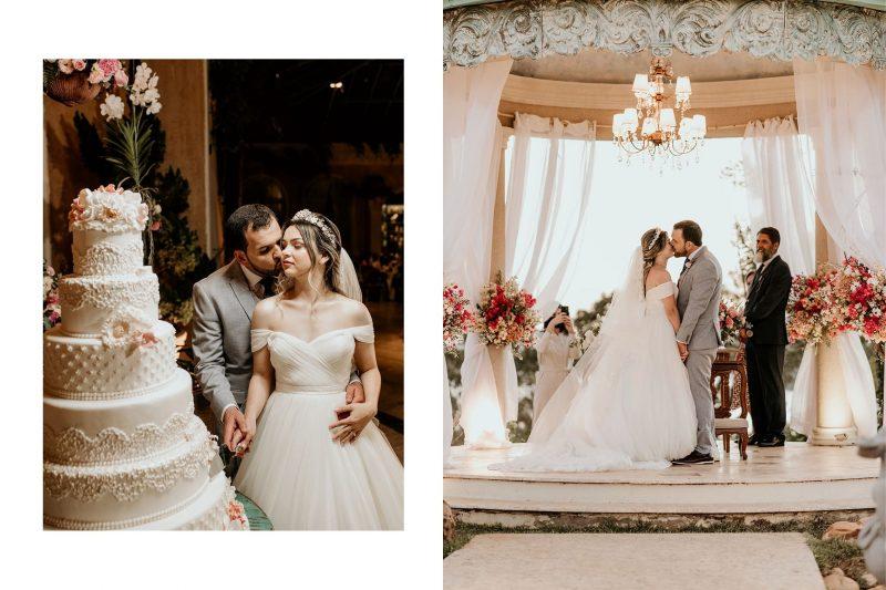 Casamento clássico romântico no Villa Giardini: Ruanna + Samuel