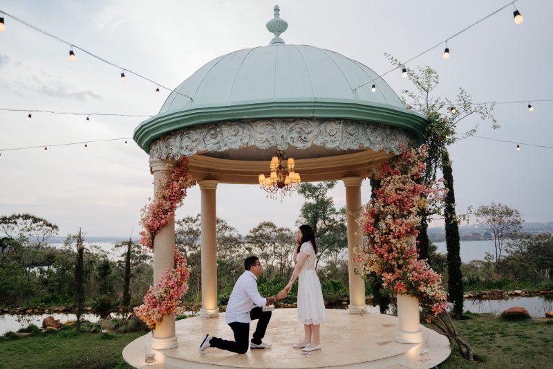 Um pedido de casamento super emocionante