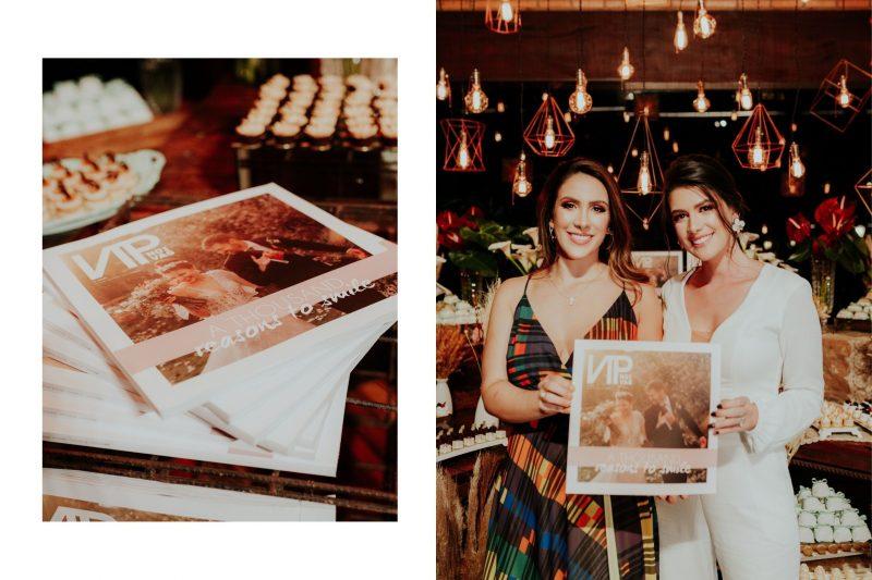 Sexta edição da revista VIP Noivas é lançada com sucesso