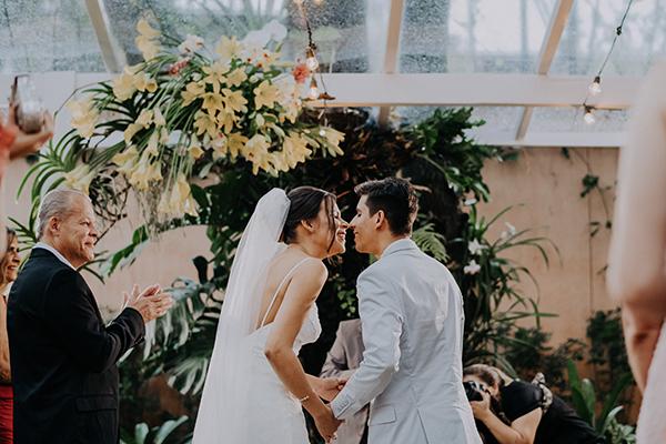 Casamento em restaurante: Lívia + Glauber