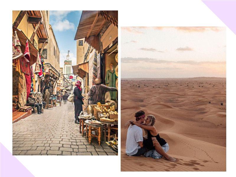 Vamos passar a Lua de Mel no Marrocos?