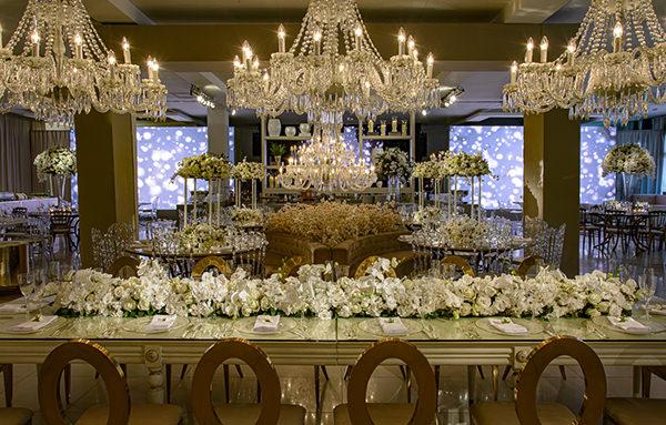 Decoração de casamento inspirada em Dubai