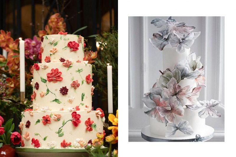5 tendências de bolo de casamento