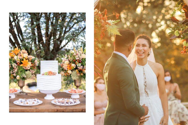 Casamento intimista no fim de tarde: Lorene + Rawlinson