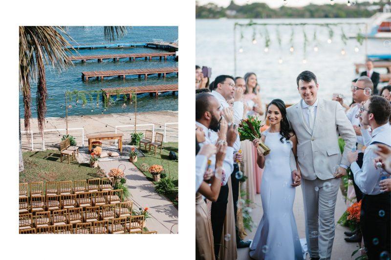 Casamento inspirado em Brasília:  Bruna + Lukas