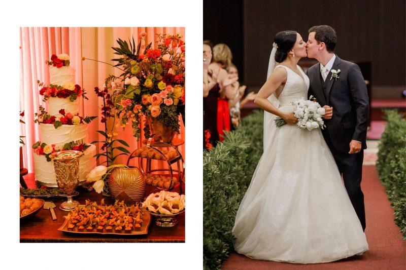 Casamento minimalista com identidade: Rafaela Araújo + Felipe Dias